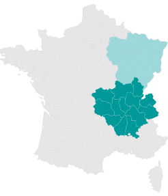 Carte Est - Larmotec